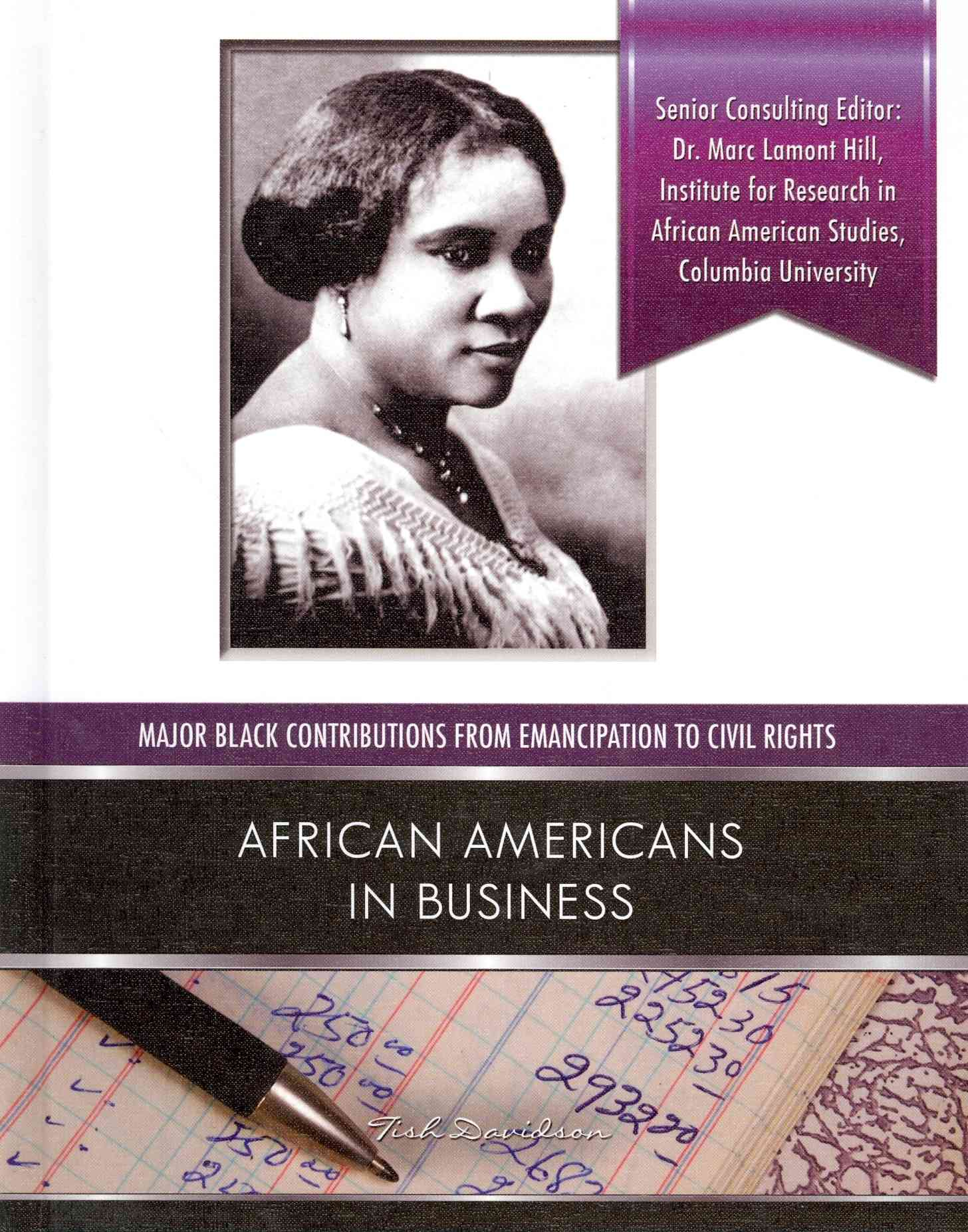 African Americans in Business By Davidson, Tish